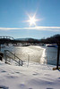Snowy view from Scott Park, Easton, PA  12/16/2013