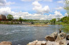 Fishing on the Delaware River, Easton, PA 5/7/2013