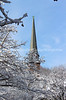 Snowy Scene, Spring Garden St, Church, Easton, PA 2/4/2014