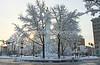 Snowy Scene, Centre Square, Easton, PA 2/4/2014