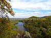 View from Paxinosa Point, Easton, PA 10/18/2012
