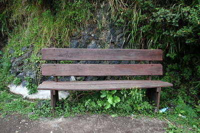 If you sat on this bench...