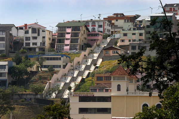Did I mention that there are a lot of stairs in Ecuador?