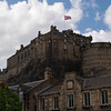 Edinburgh Castle viewed from the Grassmarket