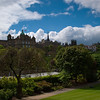 Edinburgh Castle from Waverley Park, Edinburgh