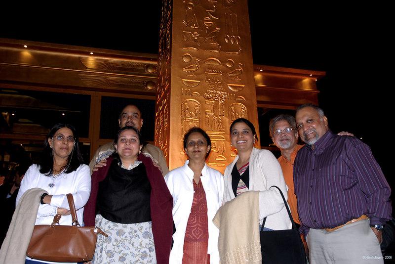 Us ALL! Swarup, Bunny, Neelima, Shobha, Sheetal, me & Motu