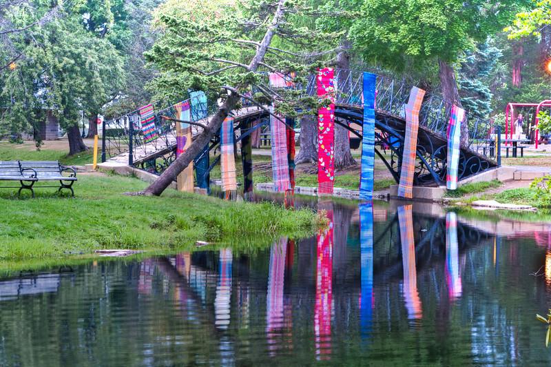 "Saori sashed Bridge More info at <a href=""http://saoriworcester.com/""> SAORI Worcester</a>"