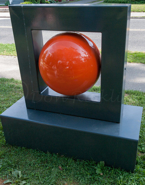 The Red Ball by Heinz Aeschlimann