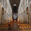 A view up the main aisle inside Ely Cathedral. <br /> Frankly I dont think that any photograph will ever do the Cathedral justice.<br /> it is just breathakingly beautiful inside.