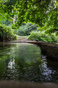 The Stepping Stones at Box Hill.