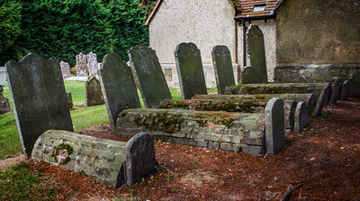 Graves from the 1700's at Tangmere.