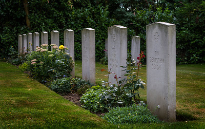 Luftwaffe graves at Tangmere.