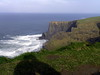 Viewing the Cliffs.  Ireland, Cliffs of Moher