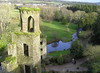 Blarney, Ireland.  Shot from the castle.