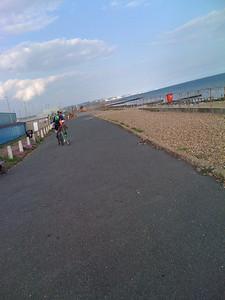 Shoreham by Sea, heading east to Brighton