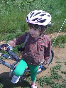 Trail a biker