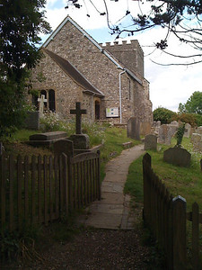 Church at the foot of Bramber Castle