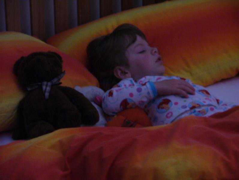 Sam in BED