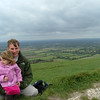 Sam and Dad at the Devil's Dyke