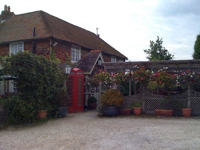 The lovely but closed pub in Chartham