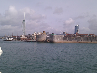 Portsmouth Harbour Walls