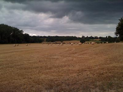 Grey cloud over Kent