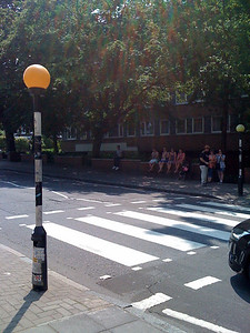 Abbey Road zebra crossing