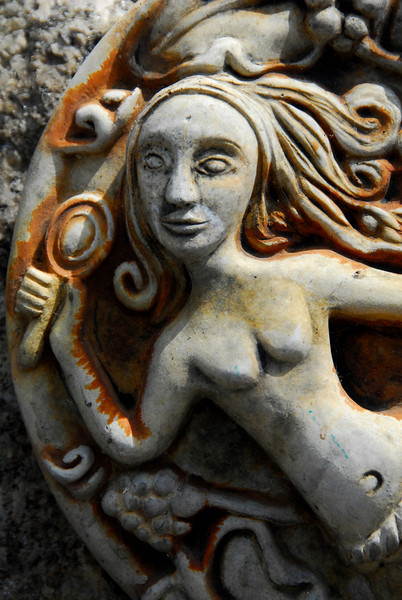 A Mermaid in Mousehole, England