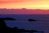Brilliant purple and pink sunset - St. Ives, Cornwall, England