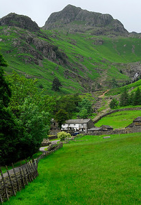Millbeck Farm in the Lake District, England