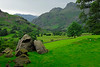 Pastoral scene in Lake District - Chapel Stile, England