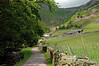 Lane leading to Millbeck Farm - Lake District, England
