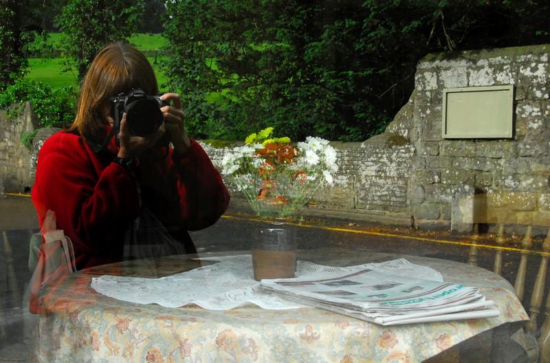 Self portrait - Fountains Abbey - Rippon, England