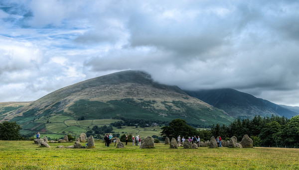 Castlerigg Stone Circle, in the Lake District