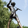statue to Peter Pan in Kensington Park