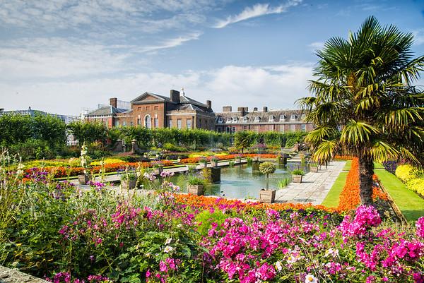 Gardens at Kensington Palace