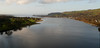 Looking down the Clyde from the Erskine Bridge.<br /> 12th November 2011
