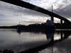 UPHUSEN passing under the Erskine Bridge.<br /> 12th November 2011