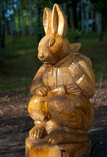 Rabbit at Etno Selo