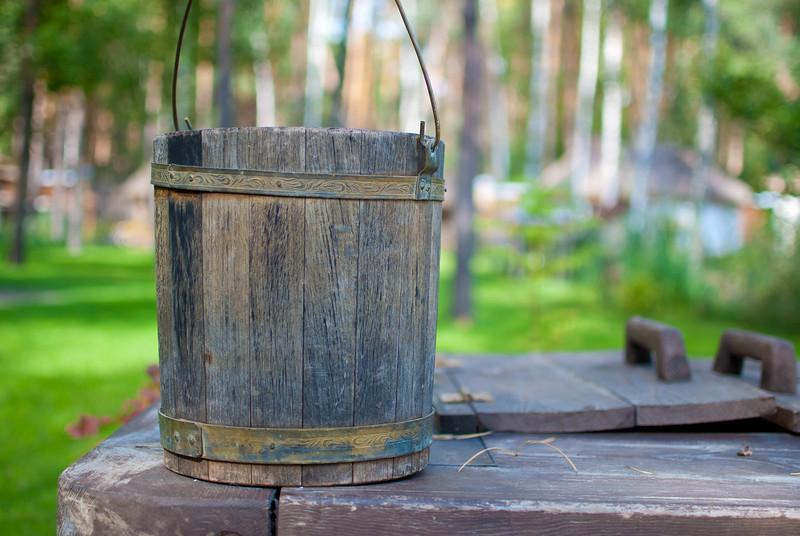 Bucket at Etno Selo