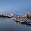 Thames River, London.