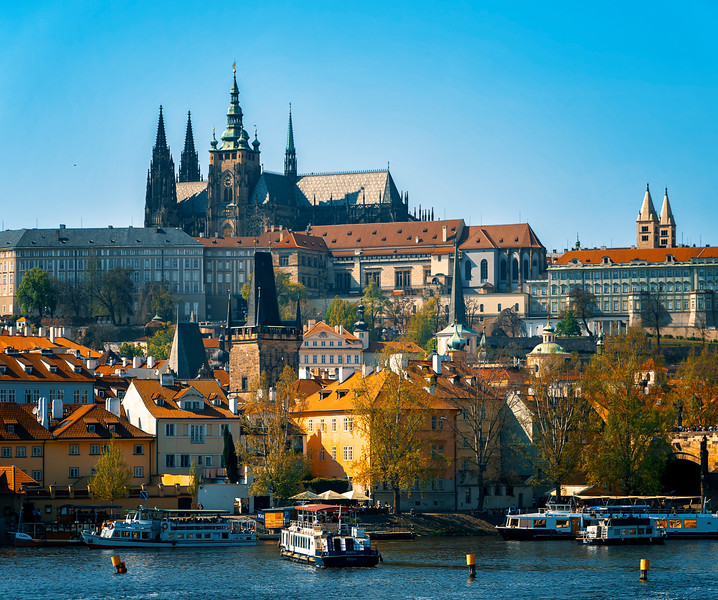Prague Castle and St. Vitus Cathedral