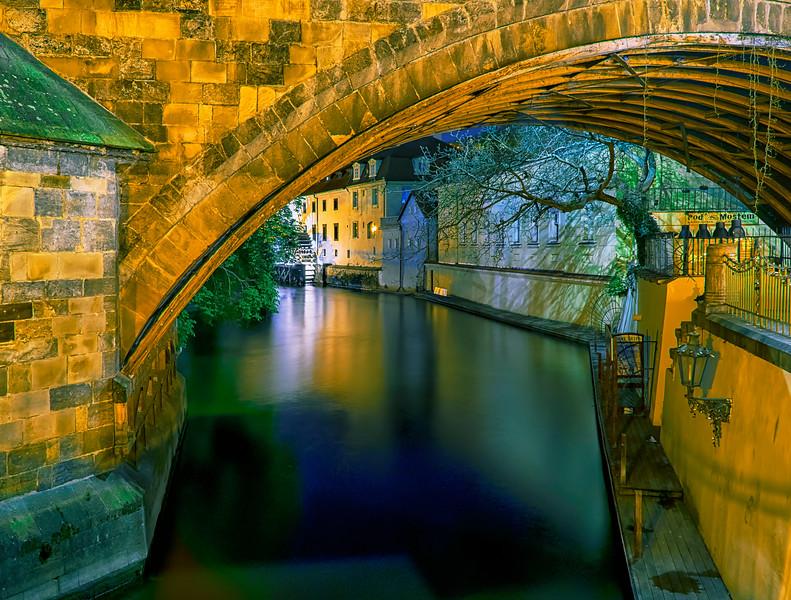 Prague canals