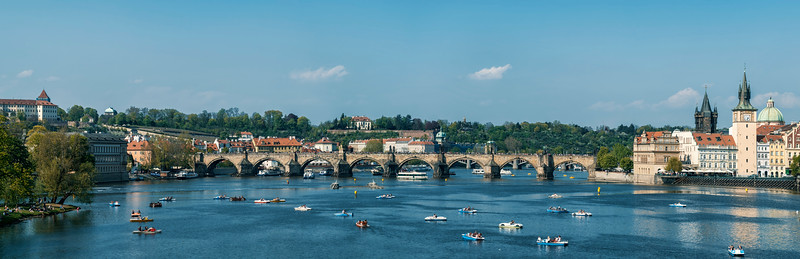 weekend at the Vltava