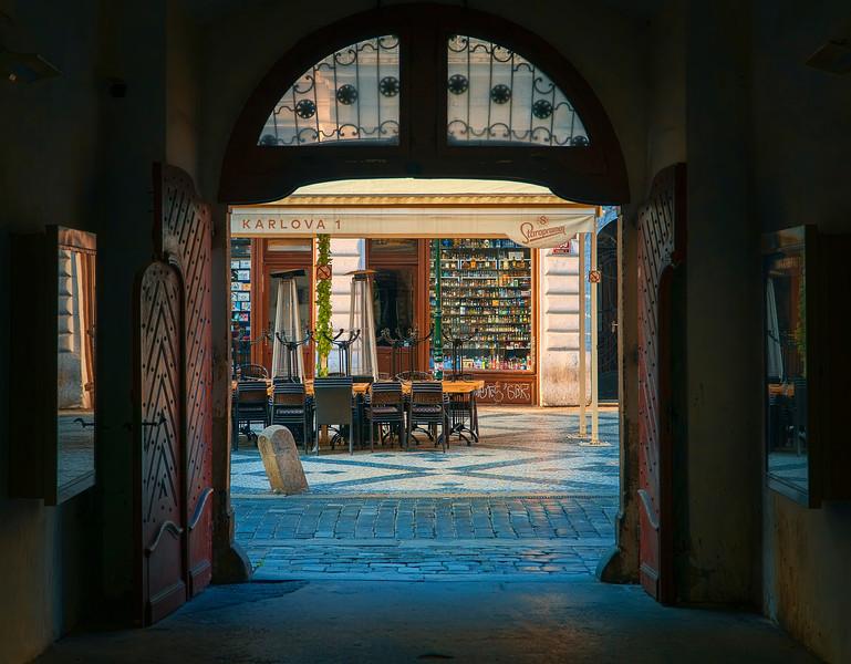 quaint side-shops