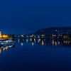 night at Vltava