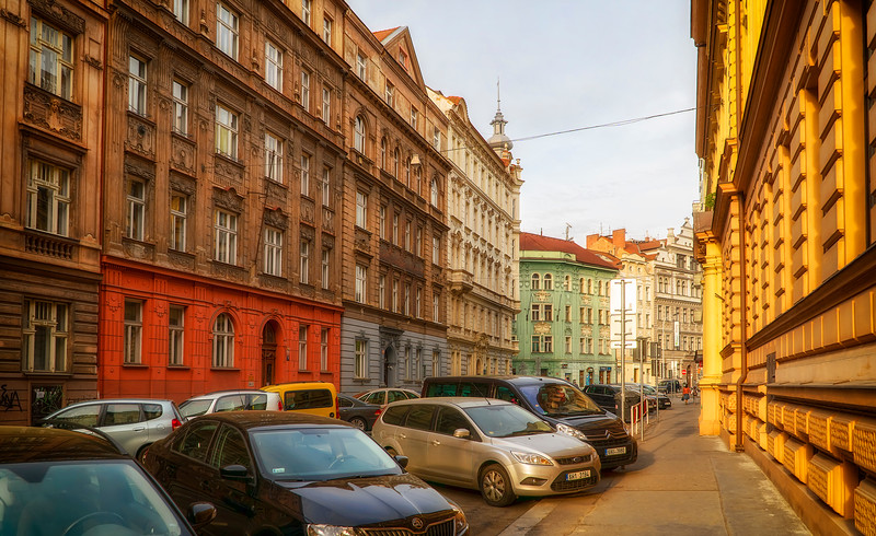 Prague sidestreets