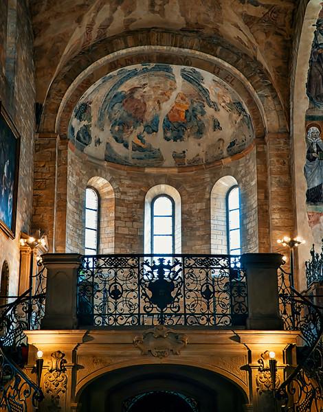 inside St. George's Basilica