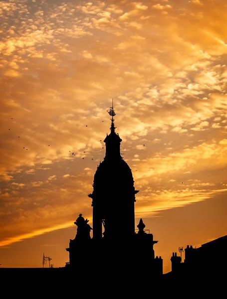 La Rochelle clock-tower
