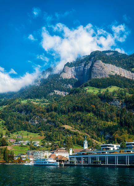 departing Mt. Rigi's view